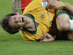 Robbie Kruse wurde brutal gefoult