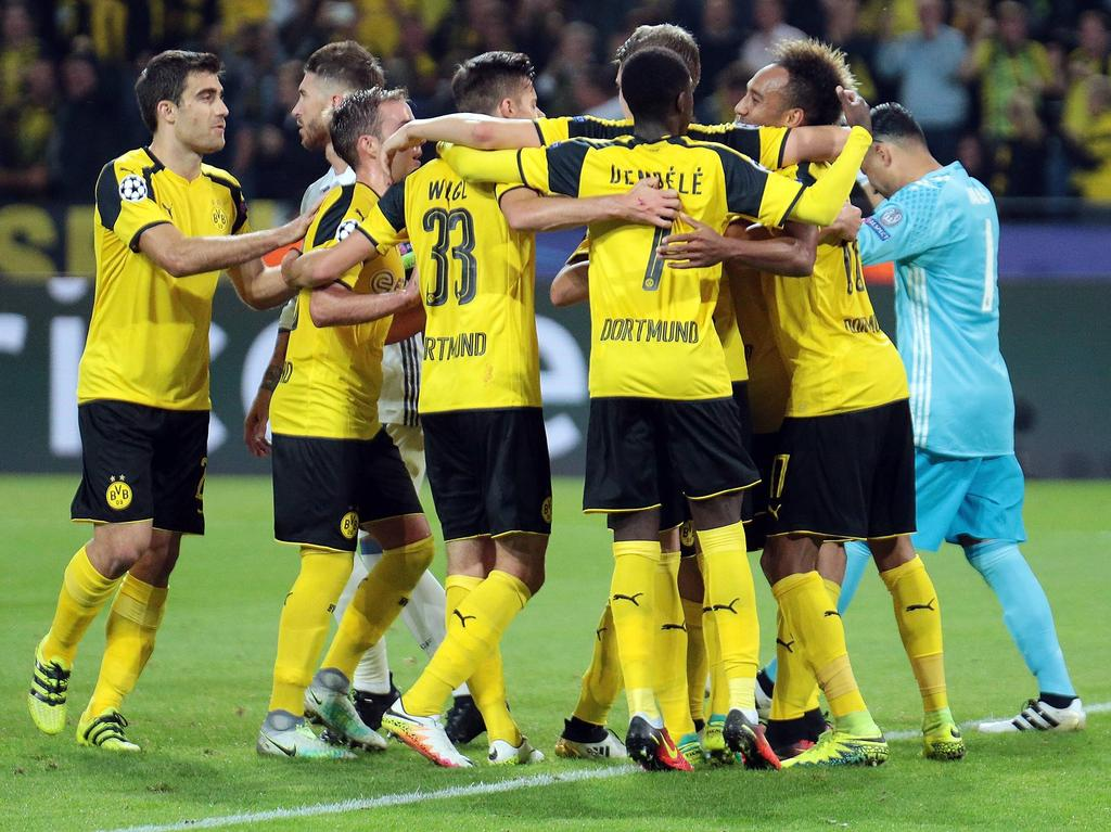 Zwei Mal kam Dortmund gegen Madrid zurück und traf zum Ausgleich