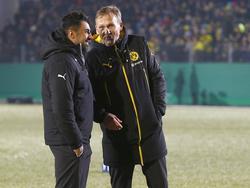 Lottes Trainer Ismail Atalan freut sich auf die Partie gegen den BVB