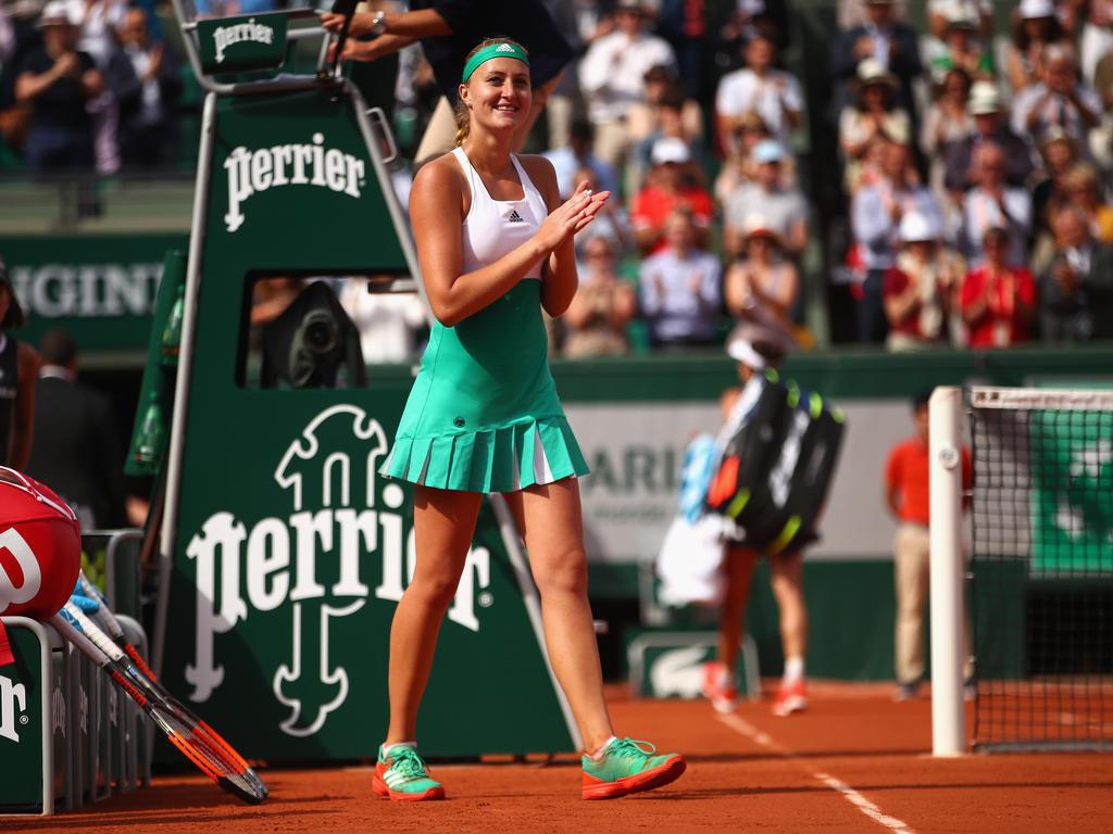 Platz 15 (-): Kristina Mladenovic - 3095 Punkte