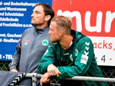 Die SpVgg Greuther Fürth muss auf Philipp Hofmann vorerst verzichten