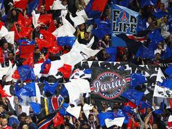 Im Stade Velodrome nicht dabei: Die Anhänger von Paris Saint-Germain
