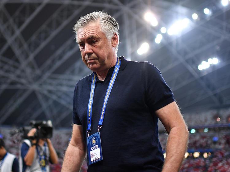 Carlo Ancelotti will angeblich Trainer bei Juventus werden