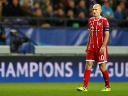 Arjen Robben musste gegen Paris Saint-Germain verletzt raus