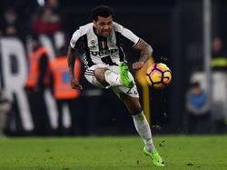 Dani Alves wird Juventus Turin in diesem Sommer verlassen
