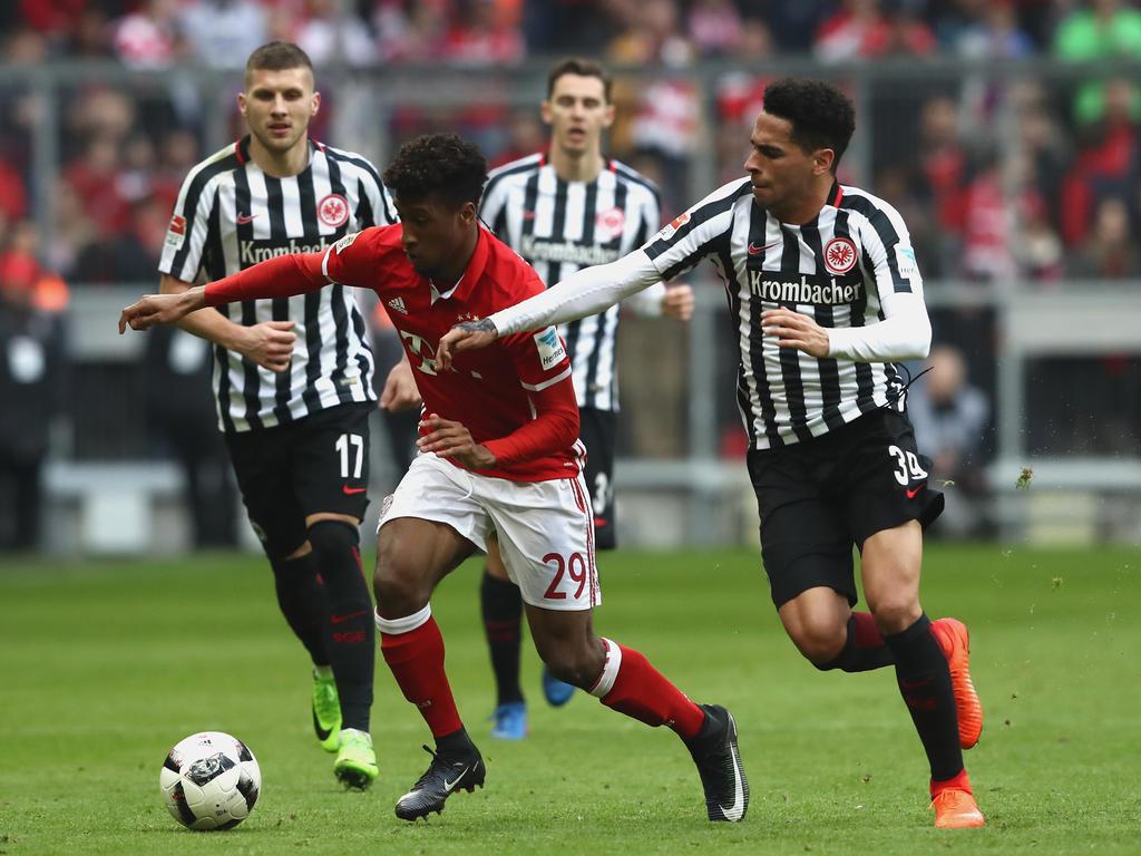 Omar Mascarell (r.) soll ein Thema bei Bayern München sein