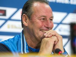 Huub Stevens freut sich auf seinen Abschied auf Schalke