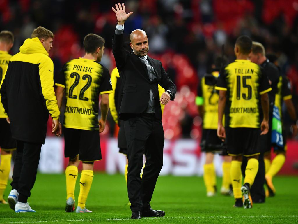Ist heiß aufs Rückspiel: BVB-Coach Peter Bosz