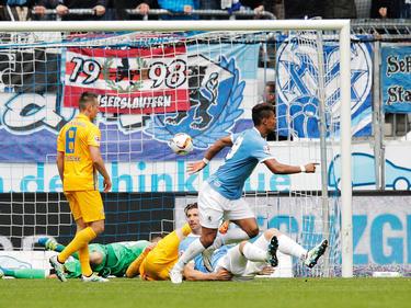 Ruben Okotie gelingt der erlösende Last-Minute-Treffer