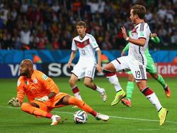 Mario Götze vergibt gegen Algerien eine Riesenchance