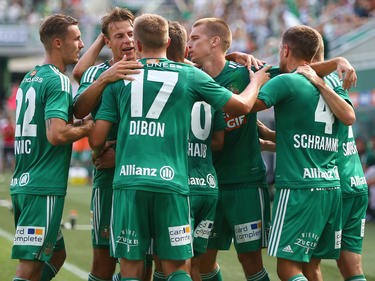 Rapid fertigte Ried zum Bundesliga-Auftakt ab