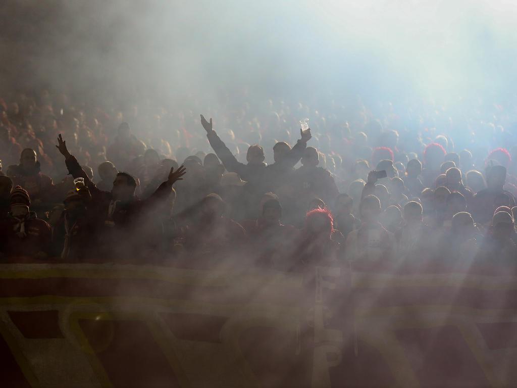 Zahlreiche Fans begleiteten Union Berlin nach Dortmund