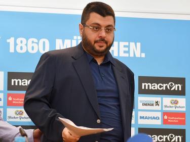 Hat die Pressevertreter vergrault: 1860-Investor Hasan Ismaik