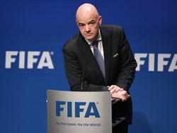 Seit einem Jahr im Amt: FIFA-Präsident Gianni Infantino