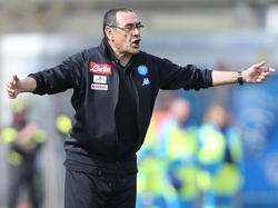 Maurizio Sarri ist Italiens Klub-Coach des Jahres