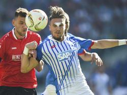 Spielte gegen Ingolstadt trotz Platzwunde weiter: Ermin Bičakčić