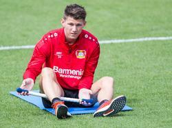 Robin Becker bereitete sich noch mit Leverkusen auf die neue Saison vor