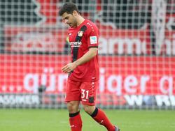 Kevin Volland ist nach seiner Notbremse gegen Hoffenheim zum Zuschauen verdammt