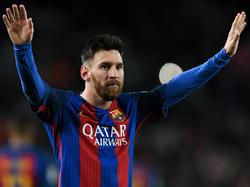 Lionel Messi steht beim FC Barcelona über Allem