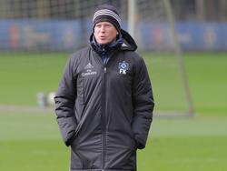 Markus Gisdol hat vor kurzem seinen Vertrag beim HSV verlängert