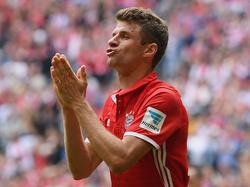 Thomas Müller ist zum Trainingsauftakt der Bayern rechtzeitig fit