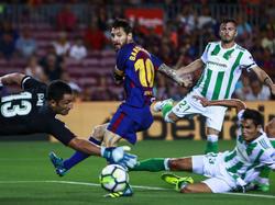 Lionel Messi und der FC Barcelona starteten erfolgreich in die neue Saison