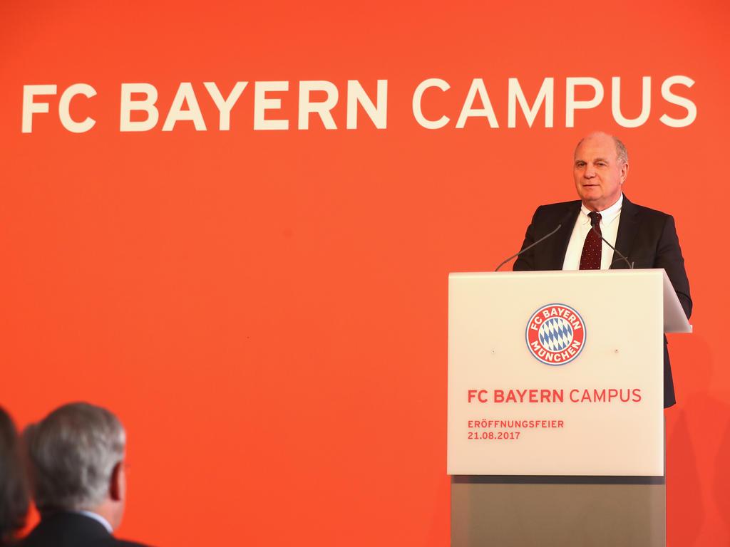 Uli Hoeneß eröffnete den neuen FC Bayern Campus