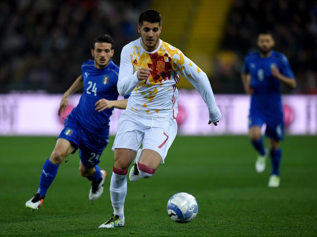 fußball spanien gegen italien