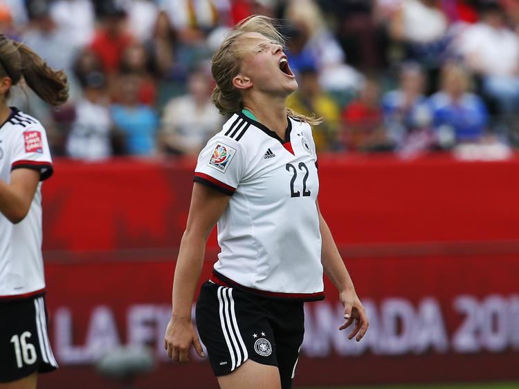 Die DFB-Damen gehen bei der WM 2015 leer aus
