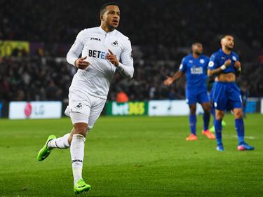 Martin Olsson marcó el 2-0 contra el Leicester. (Foto: Getty)