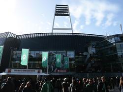 Im Weser-Stadion hat es am Sonntag gebrannt
