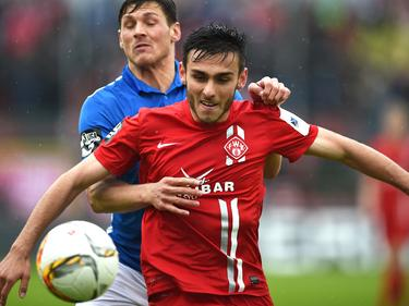 Die Würzburger Kickers haben mit Karsanidis verlängert