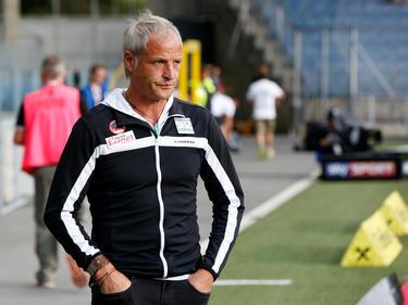 Zuletzt in Graz hat WAC-Coach Heimo Pfeifenberger nicht alles geschmeckt