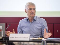 Lutz-Michael Fröhlich zieht ein gespaltenes Zwischenfazit nach der Bundesliga-Hinrunde