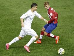 Ronaldo (l.) und Griezmann gelten auf die heißesten Anwärter auf den UEFA-Award