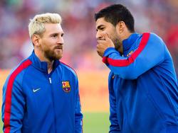 Luis Suárez und Lionel Messi zeigten am 1. Spieltag ihre ganze Klasse