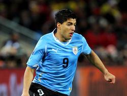 Luis Suarez - einer der Topstars von Uruguay