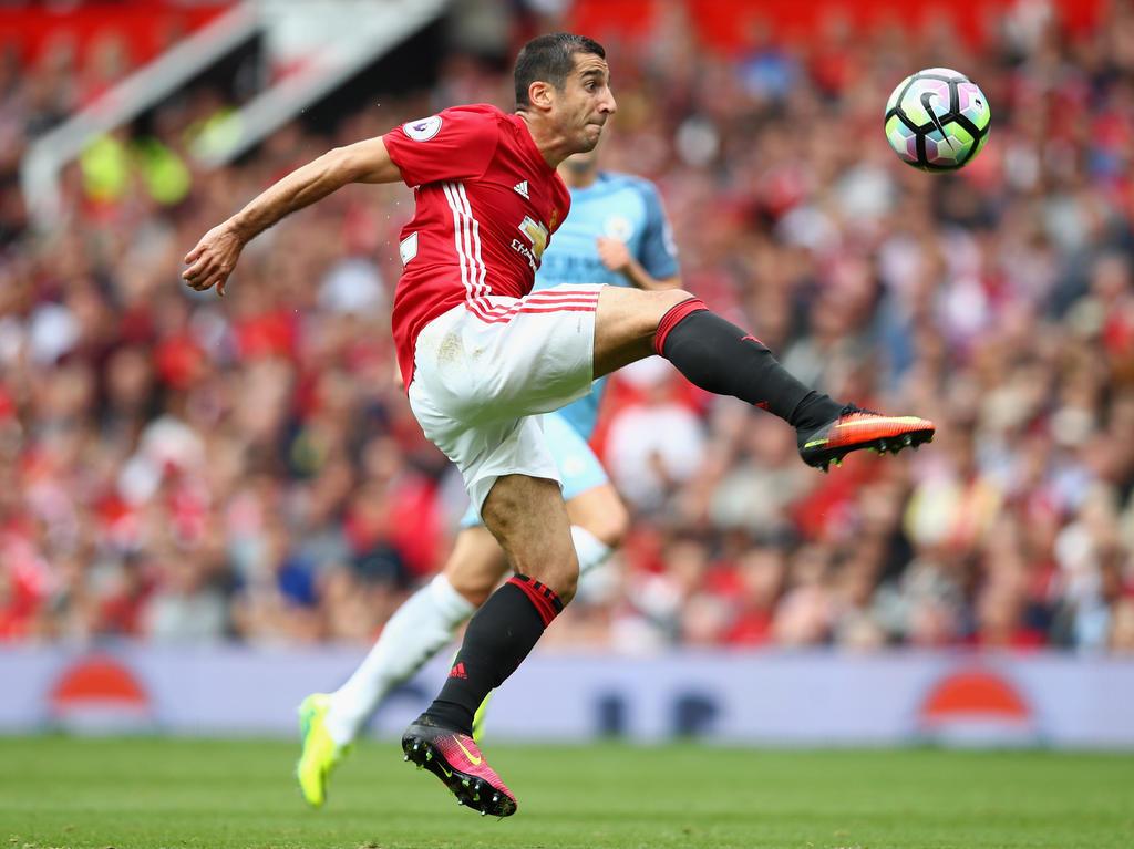 Henrikh Mkhitaryan spielt (noch) bei Manchester United