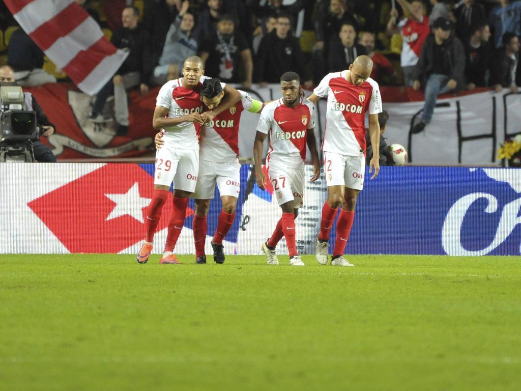 Die Spieler des AS Monaco hatten gleich sechsfach Grund zur Freude