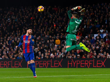 Lionel Messi traf für Barcelona zum 1:0