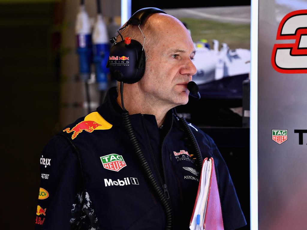 Adrian Newey sieht bei Red Bull zu Saisonbeginn Handlungsbedarf