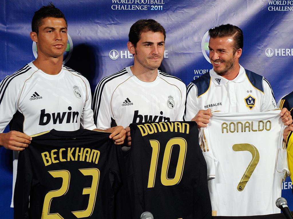 Beckham plant Mega-Coup mit Ronaldo