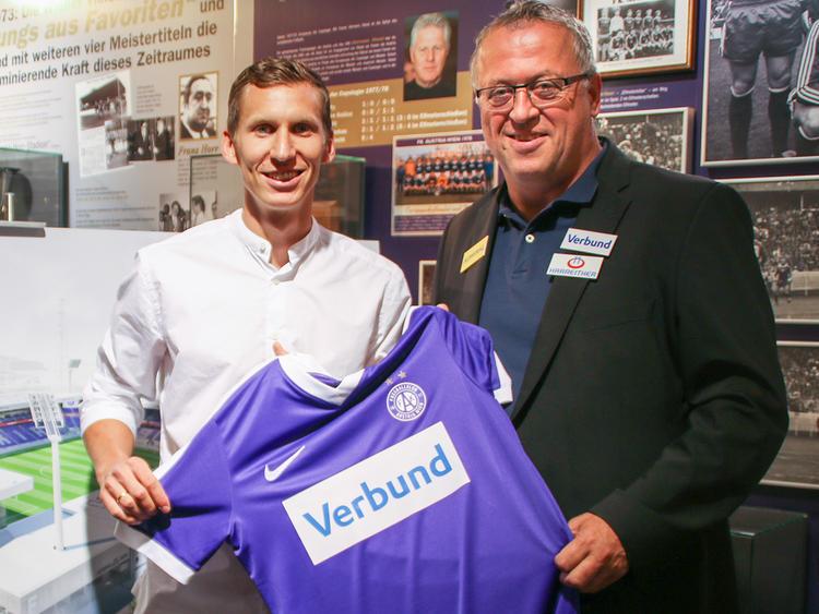 Florian Klein ist wieder ein Violetter