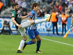 Am Ende hatte Schalke klar die Nase vorn