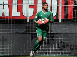 Gianluigi Donnarumma en un partido contra el Udinese. (Foto: Getty)