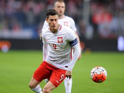Robert Lewandowski führt Polen als Kapitän zur EM