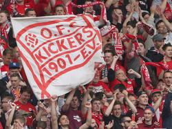 Den Kickers Offenbach droht wie schon 2013 die Insolvenz