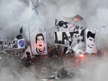 Aficionados del Colo Colo en el estadio Monumental David Arellano. (Foto: Imago)