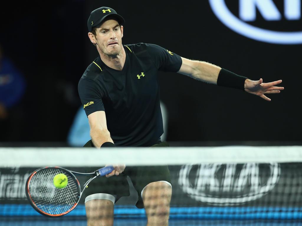 Platz 1 (-): Andy Murray - 7750 Punkte