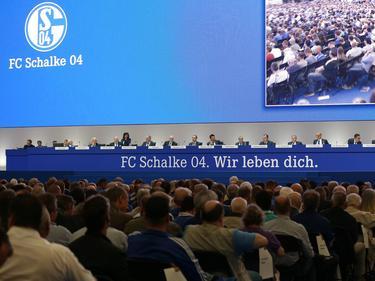 Die Schalker Mitgliederversammlung fand in der Veltins-Arena statt